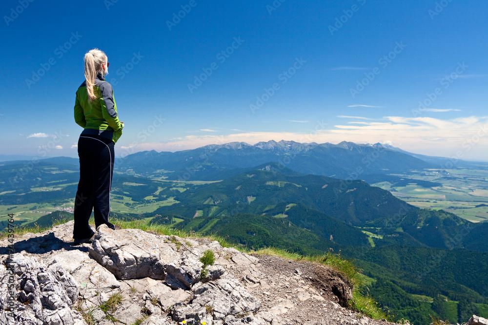 Fototapety, obrazy: View from Velky Chocz, Slovakia