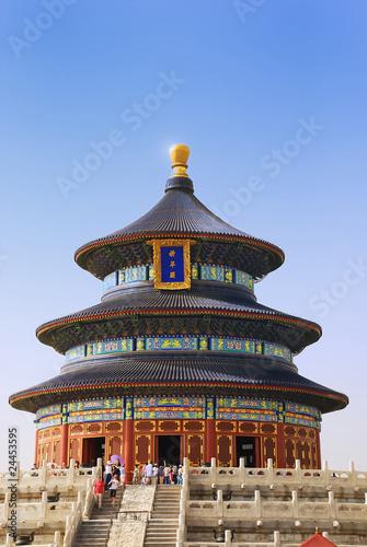 In de dag China Temple of Heaven