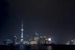 night scape of the bund, shanghai