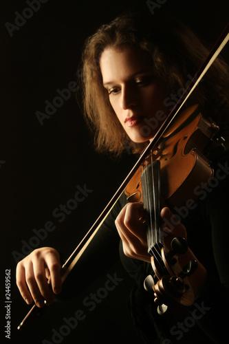 Papiers peints Musique Professional classical violinist
