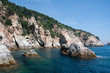 Cliff coast of Costa Brava