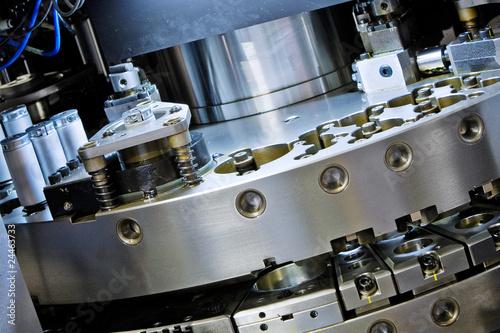 Fotografie, Obraz  closeup of cnc machinery