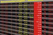 Börsenkurse Fallend