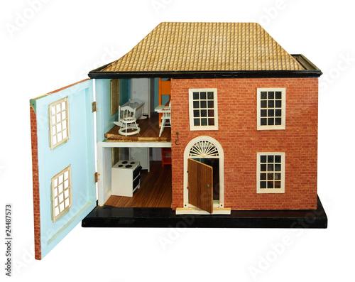 Photo  Antique Dolls House