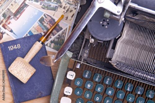 Papiers peints Retro old typewriter on the table