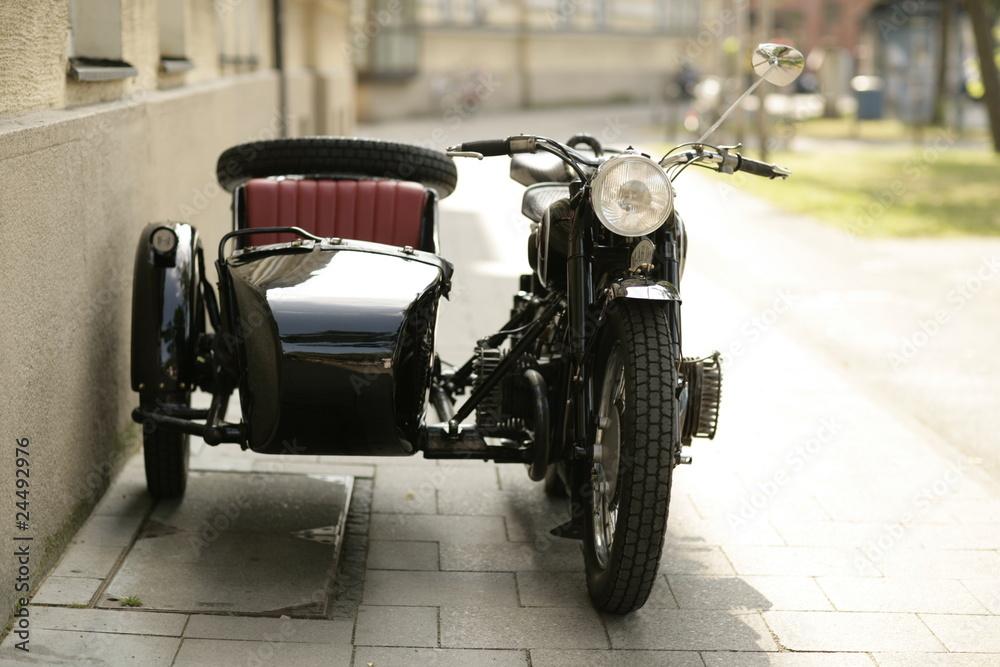 Fototapeta Oldtimer Motorrad