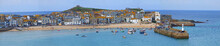 Panoramic Of St Ives Bay, Corn...