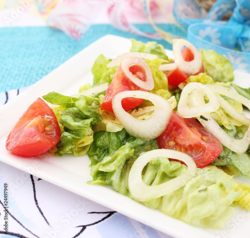 Fototapety, obrazy: Frischer Salat