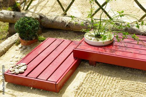 Cadres-photo bureau Jardin Jardin Japonais