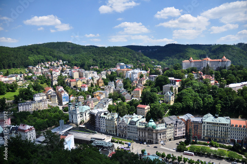 Fotografie, Obraz  look at the spa of Karlovy Vary