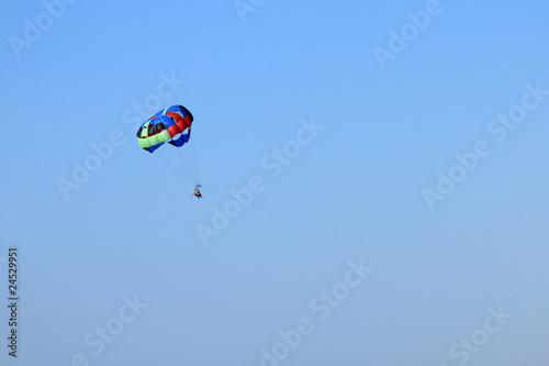 Foto op Canvas Luchtsport parachute ascensionnel