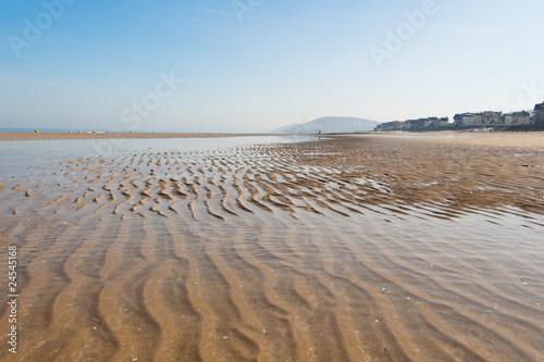 Spoed Foto op Canvas Noordzee ondulation sur le sable