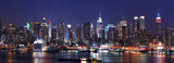 Fototapeta Nowy Jork - New York City Manhattan skyline panorama