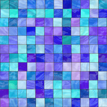 Blue Stained Glass