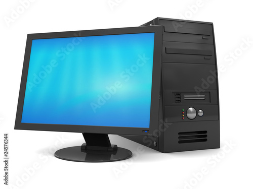 Photo  black computer