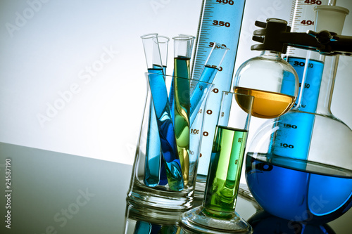 Laboratory equipment Wallpaper Mural