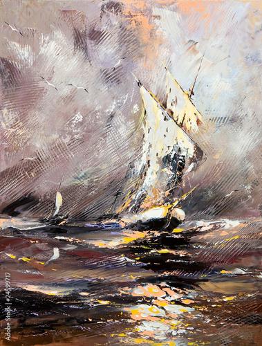 statek-zaglowy-w-wzburzonym-morzu