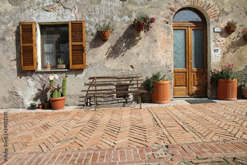 Fototapeta architektura styl-zycia-toskanii