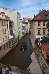 Fototapeta na wymiar Praga Canal del Diablo