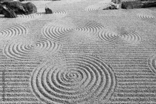 Printed kitchen splashbacks Stones in Sand 日本の伝統的な庭園