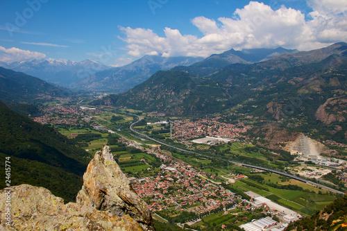 Valle di Susa (Piemonte), Italia Fototapeta