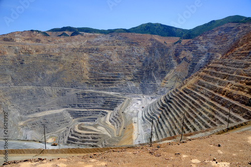 Fotografia, Obraz  Bingham Kennecott Copper Mine