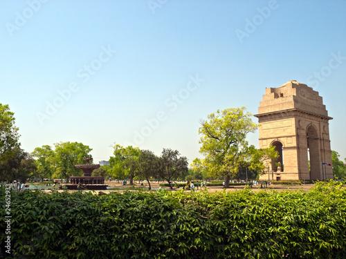 Printed kitchen splashbacks Delhi India Gate at New Delhi