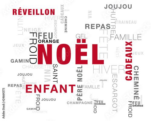 Noël Mots Image Sur La Thème De Noël Buy This Stock Vector And