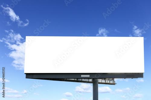 Cuadros en Lienzo  Blank billboard