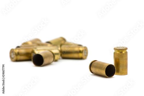 Fotografie, Obraz  Bullet casings