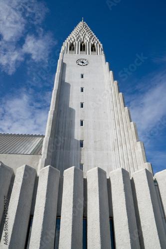 Fototapeta Reykjaviks Hallgrimskirkja