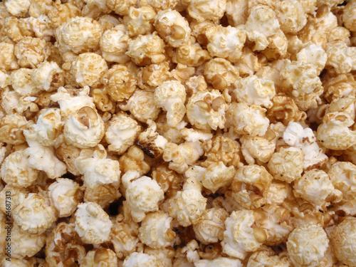 Canvas-taulu Bunch of Kettle Corn Popcorn