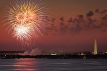Fireworks Over Washington DC