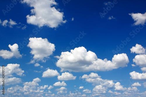 Foto  Wunderschöner Wolkenhintergrund