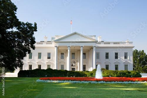 Fotografie, Tablou Das weiße Haus in Washington DC