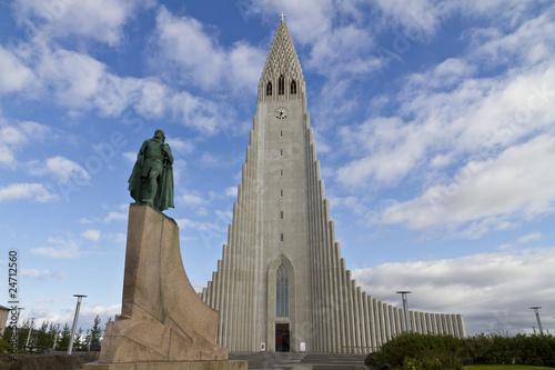 Fotografija  Hallgrimskirkja Church, Reykjavik,Iceland,