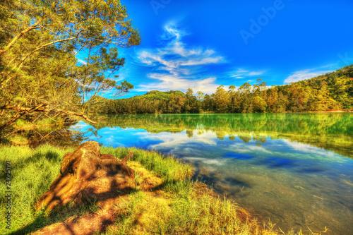 Canvas Prints Honey Telaga Warna lake