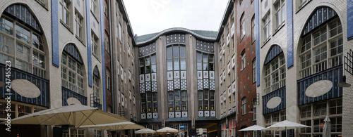 Deurstickers Rotterdam Hackesche Höfe, Berlin, Deutschland