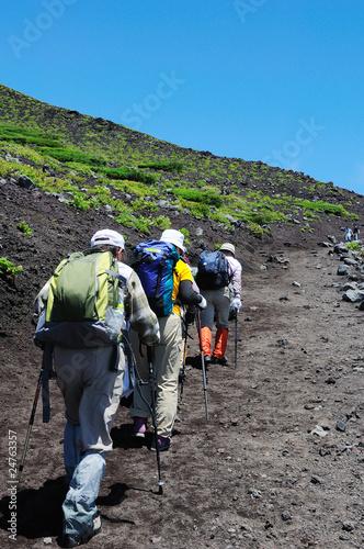 Foto op Plexiglas Alpinisme 山