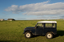 Jeep In The Field