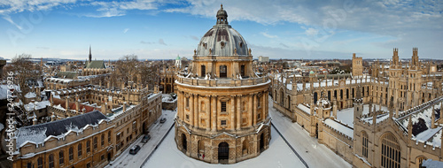 Photo Panoramic view on the Radcliffe Camera and All Souls College
