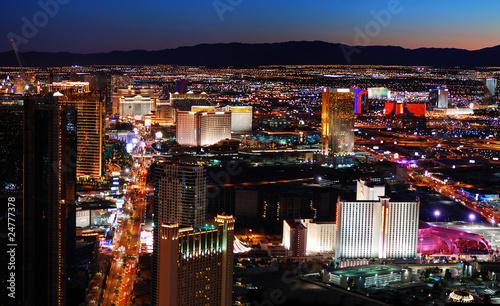 Zdjęcie XXL Las Vegas pasek widok z lotu ptaka