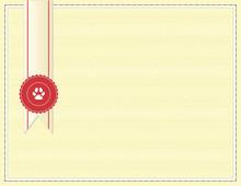 Blank Dog Championship Certifi...