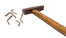 Nails And Hammer.