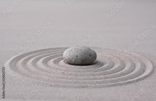 Keuken foto achterwand Stenen in het Zand zen
