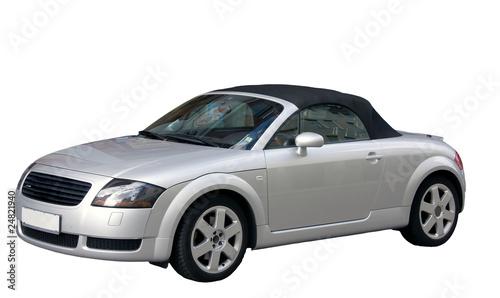 Staande foto Cartoon cars Sports car