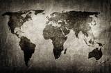 grunge world map - 24827139