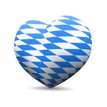 3D Herz - We Love Bayern