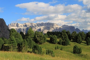 Fototapeta na wymiar Landschaft in den Dolomiten