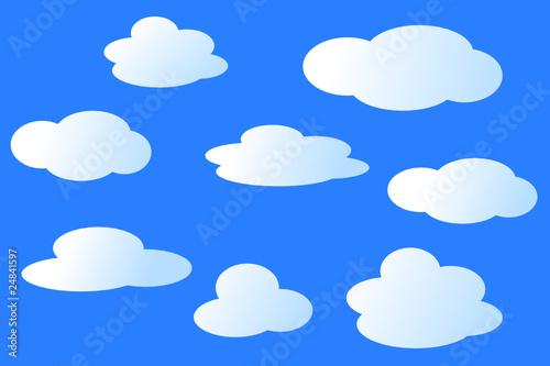Foto op Aluminium Hemel Wolkenhimmel